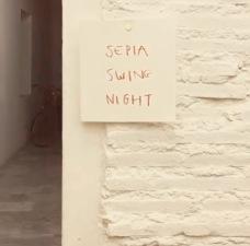 SEPIA SWING NIGHT X